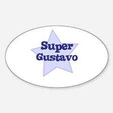 Super Gustavo Oval Decal