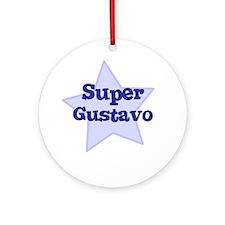 Super Gustavo Ornament (Round)