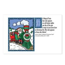 Magical Christmas Train Postcards (Package of 8)