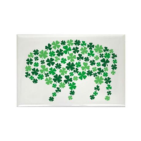 Irish Buffalo Rectangle Magnet