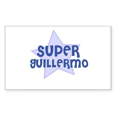 Super Guillermo Rectangle Sticker