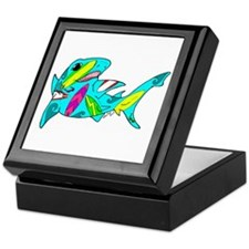 Surf Shark Keepsake Box