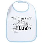 I'm Truckin' Bib