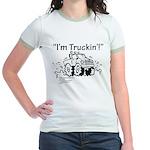I'm Truckin' Jr. Ringer T-Shirt
