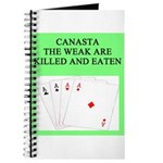canasta player Journal