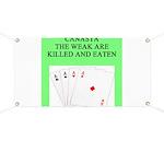 canasta player Banner