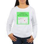 canasta player Women's Long Sleeve T-Shirt