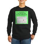 canasta player Long Sleeve Dark T-Shirt