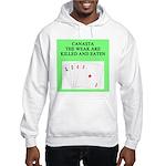 canasta player Hooded Sweatshirt