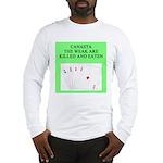 canasta player Long Sleeve T-Shirt