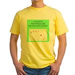 canasta player Yellow T-Shirt