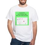 canasta player White T-Shirt