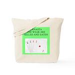 canasta player Tote Bag