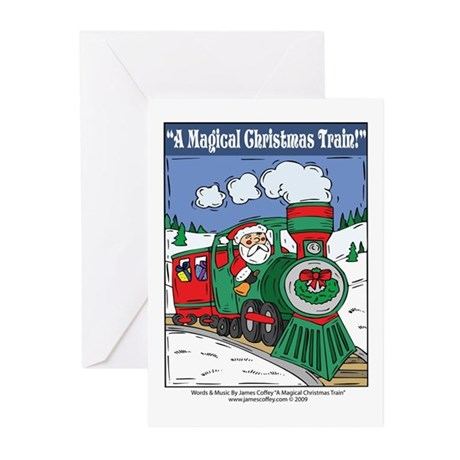 A Magical Christmas Train Greeting Cards (Pk of 20