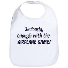 Airplane Game Bib