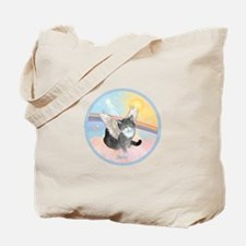 Cat Angel Kirby Tote Bag