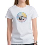 Cat Angel Kirby Women's T-Shirt