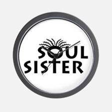 SOUL SISTER BOUTIQUE Wall Clock