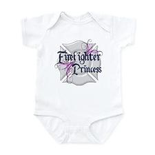 Firefighter Princess Tribal Infant Bodysuit