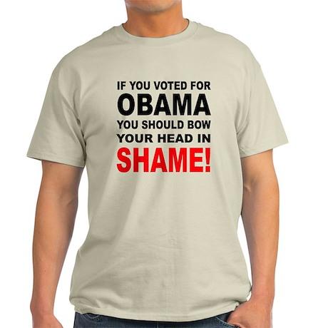 OBAMA SHAME Light T-Shirt