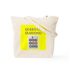 mahjong players Tote Bag