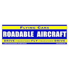 Drive-Fly-Drive - Bumper Sticker