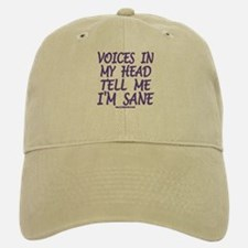 Voices In My Head Baseball Baseball Cap