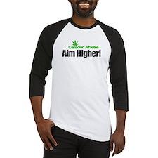 Canadian Athletes Aim Higher! Baseball Jersey