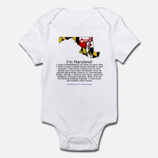 Maryland Infant Bodysuit