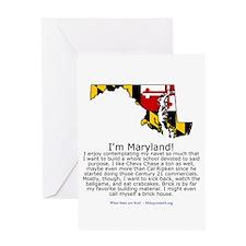 Maryland Greeting Card