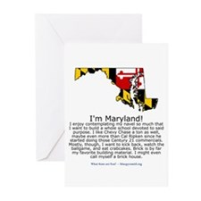Maryland Greeting Cards (Pk of 20)
