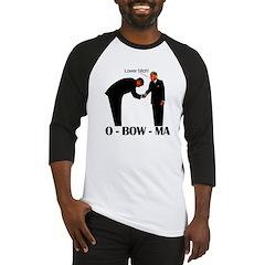 O - BOW - MA - Lower bitch! Baseball Jersey
