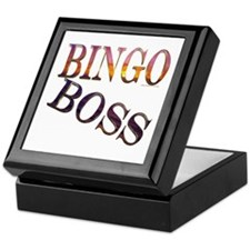 Bingo Boss Engrave MT Keepsake Box
