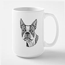 Boston Terrier Ceramic Mugs