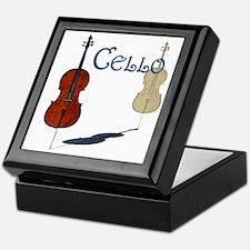 Cello Jewelry Box