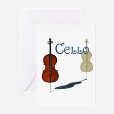 Cello Greeting Cards (Pk of 10)
