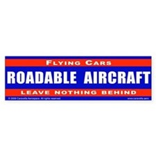 Leave nothing behind - Bumper Sticker