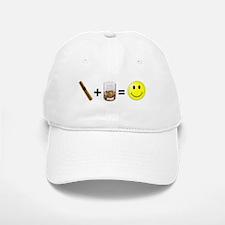 Cigar & Bourbon Baseball Baseball Cap