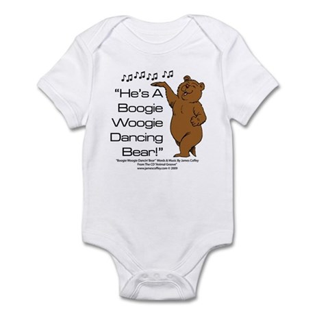 Boogie Woogie Dancin' Bear Infant Bodysuit