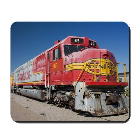 Mousepad - Featuring A Santa Fe Train