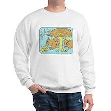 """I Love Squirrels"" Sweatshirt"