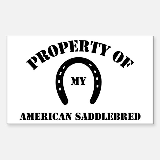 My American Saddlebred Rectangle Bumper Stickers