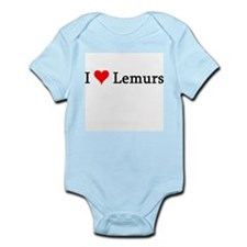 I Love Lemurs Infant Creeper