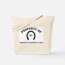 My American Bashkir Curly Tote Bag