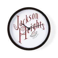 Jackson Heights, NY 11372 Wall Clock