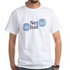 NetballCirclesBlue Shirt