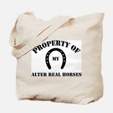 My Alter Real Horses Tote Bag
