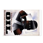 Oil = Death Postcards (Package of 8)