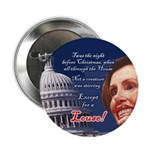 "Nancy Pelosi Holiday 2.25"" Button (10 pack)"