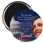 Nancy Pelosi Holiday Magnet